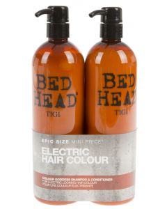Tigi 2x750ml Bed Head Colour Goddess