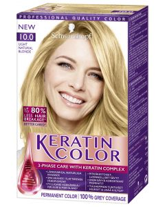 Keratin Color 10.0 Light Natural Bl hiusväri