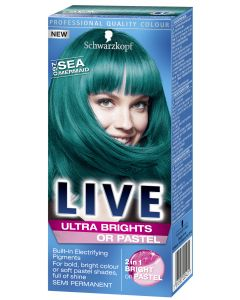 Live Ultra Brights 97 Sea Mermai hiusväri