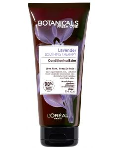 L'Oréal Paris Botanicals 200ml Lavender Soothing Therapy hoitoaine hennoille, hauraille hiuksille