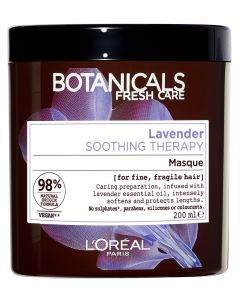 L'Oréal Paris Botanicals 200ml Lavender Soothing Therapy hiusnaamio hennoille, hauraille hiuksille