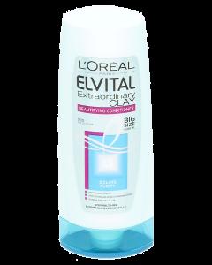 Elvital 400ml Extraordinary Clay hoitoaine normaaleille hiuksille