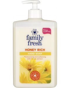 FamilyFresh 750ml HoneyRich saippua