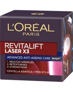 L'Oreal 50ml Revitalift Laser yövoide