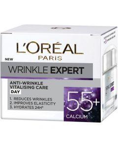 Lóreal 50ml Wrinkle 55+ päivävoide