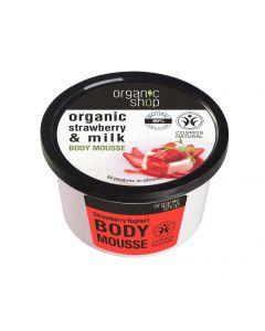 Strawberry Yogurt Kosteuttava vartalomousse 250ml