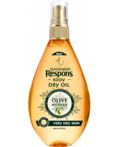 Respons Body 150 ml Mythic Olive Body Oil vartaloöljy erittäin kuivalle iholle