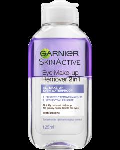 Skin Active 125ml 2in1 silmämeikinpoistoaine