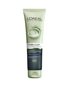 L'Oréal Pure Clay Illuminating cleansing gel 150 ml