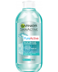 Garnier 400 ml Pure Active All-In-One puhdistusvesi