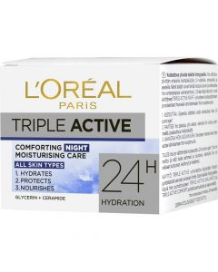 L'Oréal Triple Active 50ml yövoide