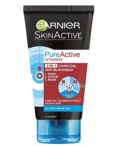 Garnier Pure Active 150ml kuorinta-aine