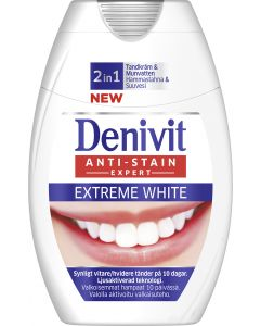 Denivit 75ml 2in1 Extreme White hammastahna