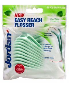 Jordan 25 kpl Easy Reach Flosser hammaslankain
