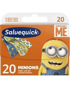 Salvequick 20 kpl Minions lastenlaastari