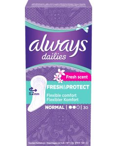 Always pikkuhoususuoja Fresh Normal 30 kpl