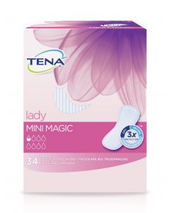 TENA lady pikkuhousunsuoja Mini Magic 34kpl