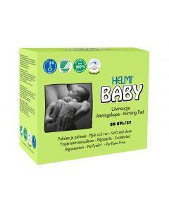 Helmi Baby 50 kpl valkoinen liivinsuoja