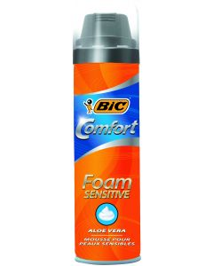 Bic 250ml Comfort Sensitive partavaahto