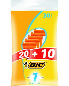 Bic 20+10 kpl Sensitive1 varsiterä