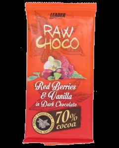 Raw Choco 80g PunMarj-Vanil raakasu