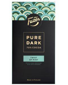 Fazer Pure Dark 95g Minttu suklaalevy