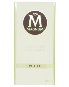 Magnum 90g White valkosuklaalevy