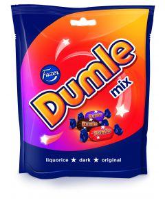Dumle Mix 220g suklaa kuorutteinen toffee