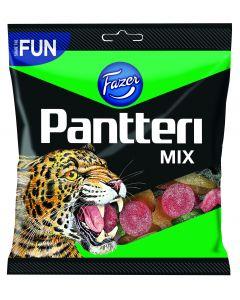 Pantteri Mix 280g hedelmä lakritsi