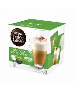 Dolce Gusto 16 kaps|196g Soy Cappuccino