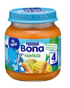 Nestlé Bona 125g Kasviksia lastenateria 4kk