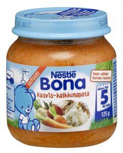 Nestlé Bona 125g Kasvis-kalkkunapata lastenateria 5kk