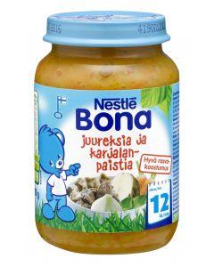 Nestlé Bona 200g Juureksia ja karjalanpaistia lastenateria 12kk