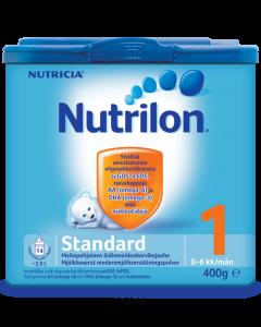 Nutrilon Standard 1 400g äidinmaitokorvikejauhe 0-6kk