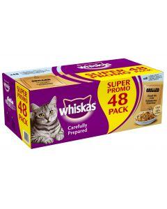 Whiskas Grilled 48x85g annospussit