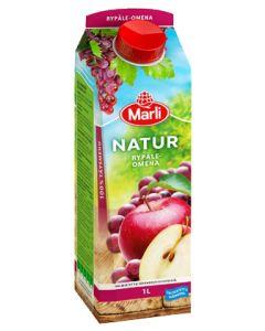 Marli Natur 1L Rypäle-omena täysmehu