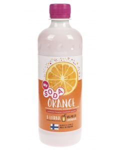 Mysoda appelsiini 0,5l/8l