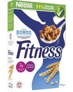 Fitness 375g täysjyvähiutale
