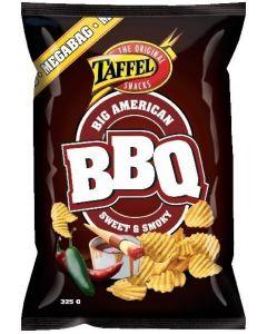 Taffel American BBQ 325g barbaquemaustettu perunalastu