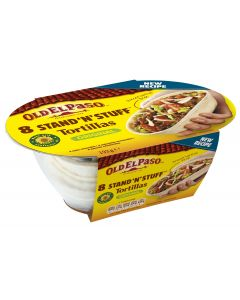 Old El Paso 193g Stand `N` Stuff Soft Tortillas