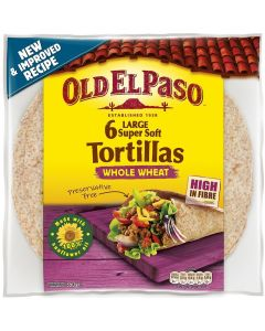 Old El Paso 326g Whole Wheat Medium