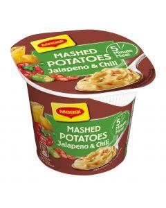 Maggi 5 Minute Meal 42g Perunamuusia ja jalapeno-chiliä kuppiateria-ainekset