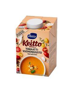 Tomaatti-vuohenjuustokeitto 5dl uht laktoositon