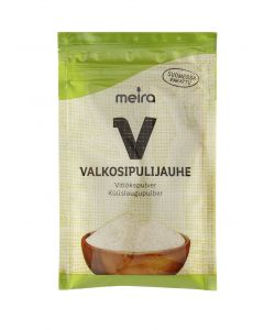 Meira Valkosipulijauhe 40g pussi mauste