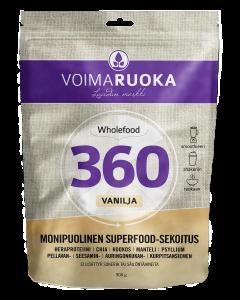 Voimaruoka Wholefood 360 Vanilja 908 g