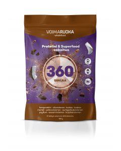 Voimaruoka Wholefood 360 Suklaa 908 g