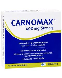 Carnomax 400 mg Strong 60 tabl