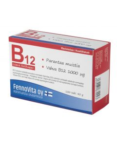 Fennovita B-12 1000 µg plus foolihappo