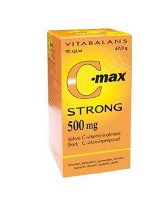 C-max strong 500mg 90 tabl