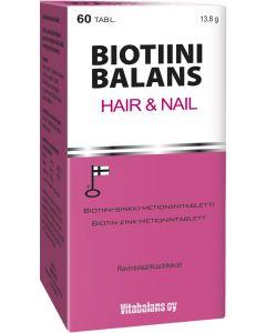 Biotiini balanas hair&nail 60 tabl